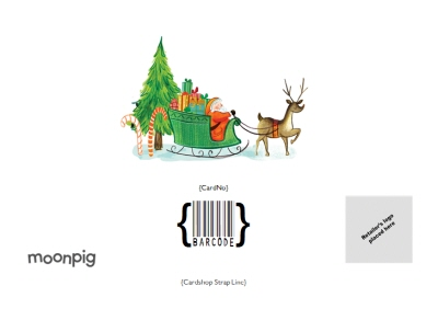 Greeting Cards - Personalised Letter From Santa Checked Twice Christmas Card - Image 4