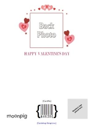Greeting Cards - 11 Squares Personalised Photo Upload Happy Valentine's Day Card - Image 4